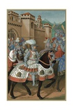 King Louis XII Riding Out with His Army