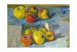 Pommes Giclée par Paul Cézanne