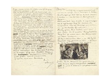 Letter from Vincent Van Gogh to His Brother Theo