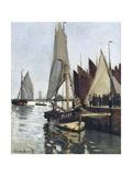 Bateaux a Honfleur (Study for Le Port De Honfleur)
