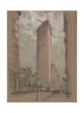 The Flatiron Building from Fifth Avenue and Twenty-Seventh Street  New York City