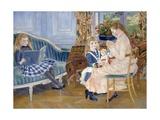 Children's Afternoon at Wargemont Giclée par Pierre-Auguste Renoir