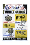 6 Stars from the Winter Garden Poster