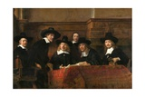 The Syndics: the Sampling Officials (Wardens) of the Amsterdam Drapers Guild