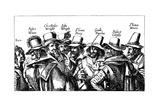 Guy Fawkes and the Gunpowder Plotters