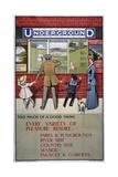 London Underground Poster  1911