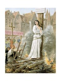 Joan of Arc Burning at the Stake