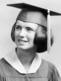 Female High School Graduate  Ca 1968