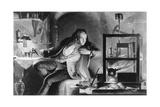 James Watt as a Young Man
