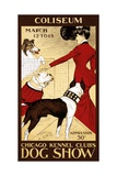 Poster for the 1902 Chicago Kennel Club Dog Show
