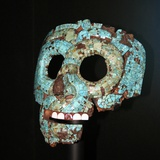 Aztec or Mixtec Mask of Quetzalcoatl