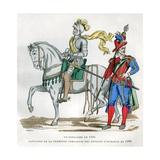 Gendarme  1583  and Captain of the 1st Company of the Enfants D'Honneur  1596