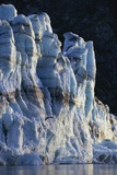 Sunset Light on Face of Lamplugh Glacier