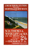 London  Tilbury and Southend Railway Poster