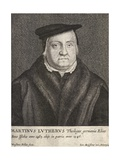 Engraving of Martin Luther