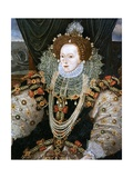 Elizabeth I  the Armada Portrait Attributed to George Gower
