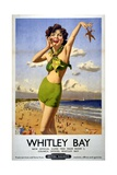 Whitley Bay Travel Poster