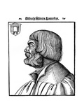 Profile Portrait of Albrecht Durer