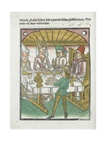 Woodcut Illustration from Medieval Book