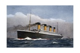 White Star Line Ocean Liner 'Titanic'  1912