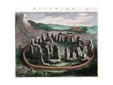 View of Stonehenge from the Atlas Van Loon