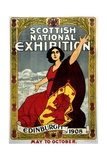 Scottish National Exhibition Poster
