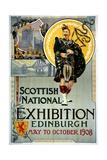 Scottish National Exhibition Poster