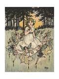 Fairies Dancing around Girl