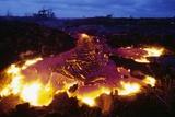 Pahoehoe Lava from Kilauea