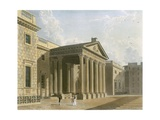 North Entrance of the Carlton House  Westminster  London