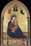 Madonna and Child with the Holy Trinity and the Annunciation