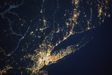 New York City and Long Island Seen from the International Space Station