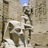 Monumental Sculptures and Relief Carvings at Luxor