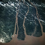 Mekong Delta Seen from Space