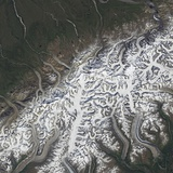 Satellite Image of Denali National Park and Preserve