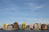 Colonial Architecture at Willemstad  Netherlands Antilles