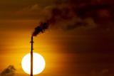 Oil Refinery Gas Flare  Aruba
