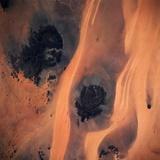 Jabal Arkenu and Jabal Uweinat Seen from Space
