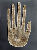 Hopewell Culture Mica Hand