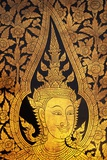 Golden Door Pattern at Wat Po