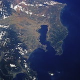 Tokyo Bay from Space