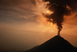 Eruption of the Colima Volcano