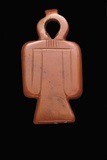 Egyptian Red Jasper Amulet with Tyet Symbol
