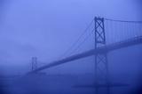 Angus Mcdonald Bridge in Nova Scotia