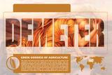 Demeter Mythology Poster