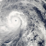 Super Typhoon Haiyan Approaching the Phillipines