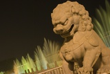 Stone Lion at the Gate of Heavenly Peace
