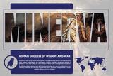 Minerva Mythology Poster