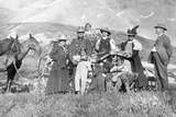 Extended Family Poses in Colorado  Ca 1900
