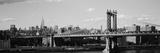 Bridge over a River  Manhattan Bridge  Manhattan  New York City  New York State  USA
